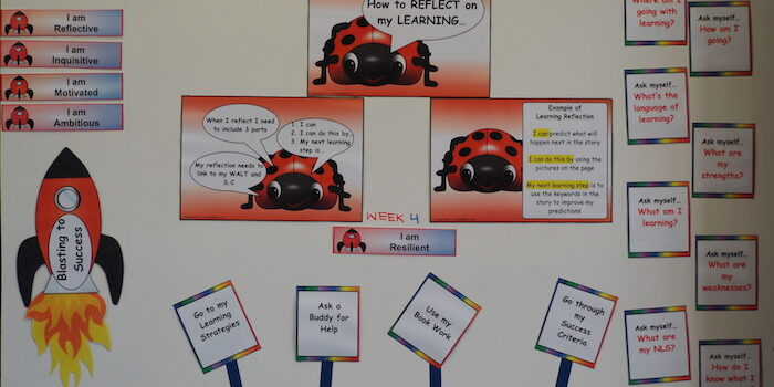 Visible Learning Wall - R11